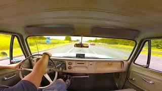 A little drive in the 65 Chevy C10 Stepside