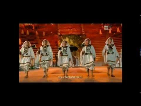 La traviata libiamo ne 39 lieti calici arena di verona - Testo di casta diva ...