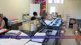 Yvelines | Covid, double élection… Une organisation millimétrée dans les bureaux de vote