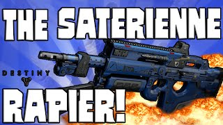 what a beast destiny the saterienne rapier pvp review april update