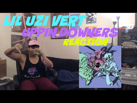 LIL UZI VERT - UPPIN DOWNERS FIRST REACTION | REVIEW