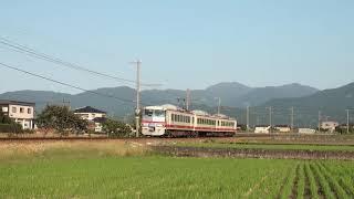 富山地鉄16010形16014F若栗~栃屋通過