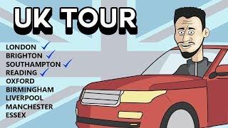 """UK TOUR Day 13 """"Edinburgh Festival"""" 24/7 LIVE VLOG $2 TTS / 3$ MEDIA"""