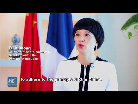 Chinese trade representative highlights benefits of new relationship with Dominican Republic