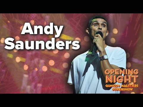 Andy Saunders - 2015 Opening Night Comedy Allstars Supershow