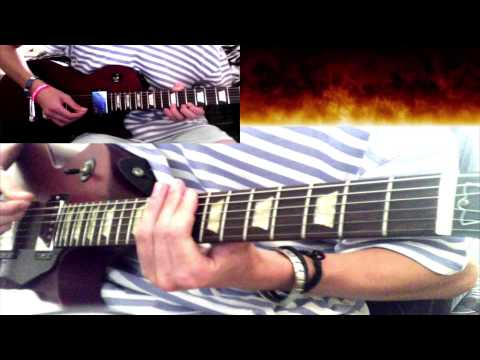 My Darkest Days - Every Lie (Guitar Cover) [ LucasCMusic ]