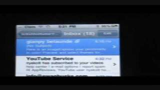how to save and view e mail attachments using iphone or ipod touch