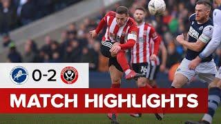 Millwall 0-2 Sheffield United | FA Cup highlights