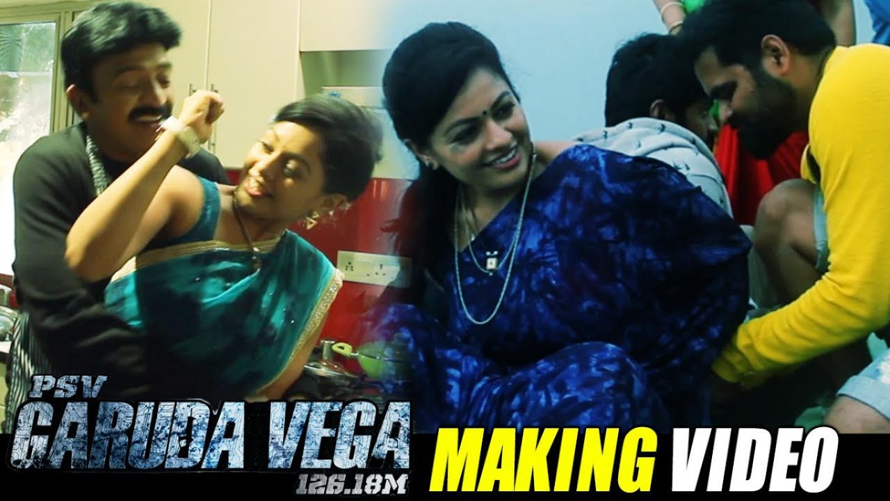 Garuda Vega Movie Making Video | Pooja Kumar as Swathi Making | Rajasekhar,  Kishore - Filmyfocus com