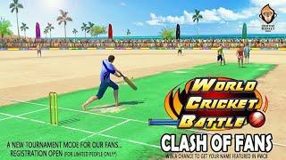 WORLD CRICKET BATTLE NEW TOURNAMENT MODE : WCB CLASH OF FAN || CREATIVE MONKEY GAMES || MUST WATCH