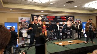 Matthysse Linares Weigh In