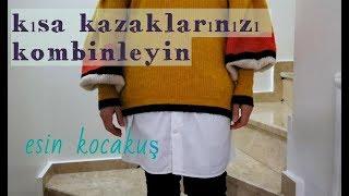 #geridonüşüm #gömlek  YARIM GÖMLEK DİKİMİ [ geri dönüşüm ]