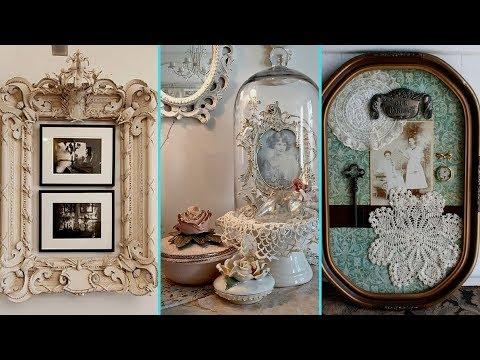 ❤ DIY Rustic Shabby chic style Photo display Ideas❤ | Home decor & Interior design| Flamingo Mango|