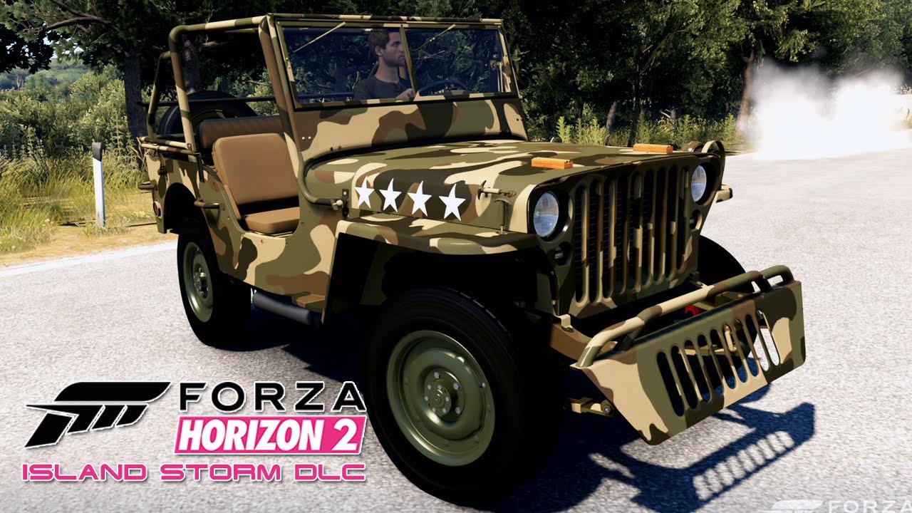 Forza Horizon 2 55 Storm Island Dlc Jeep Willys Mb