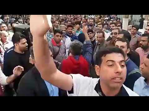 Ahvaz  Steel workers continued their strike and demonstrations for the 30st day On Monday, December