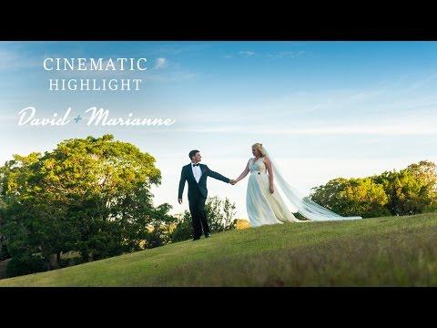 David and Mari cinematic Highlight at InterContinental Sanctuary Cove