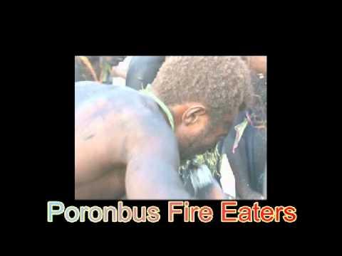 Susurunga (Poronbus)  Fire Eaters, Namatanai, Papua New Guinea.wmv