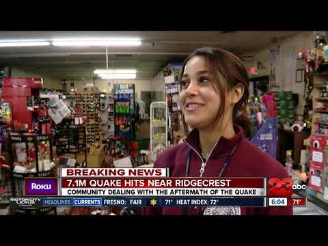 Ridgecrest residents wake up to new damage following second earthquake in two days