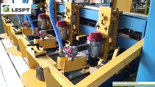 видео: Линия для производства поддонов