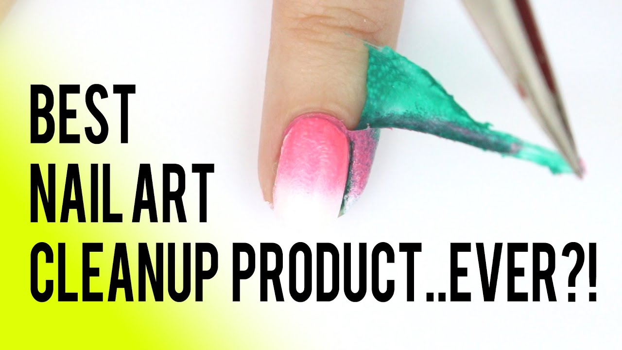 LIQUID LATEX NAIL HACK: BEST NAIL ART CLEANUP PRODUCT...EVER?! - YouTube