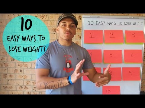 10 Easy Ways To Lose Weight Fast