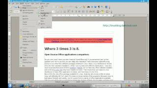 How to Add Page Numbers in OpenOffice.Org Writer