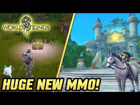 AMAZING NEW MOBILE MMO! It's Like WoW In Your Pocket! World Of Kings