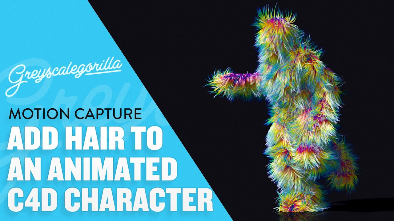 Add Hair To A Character In Cinema 4D | Greyscalegorilla