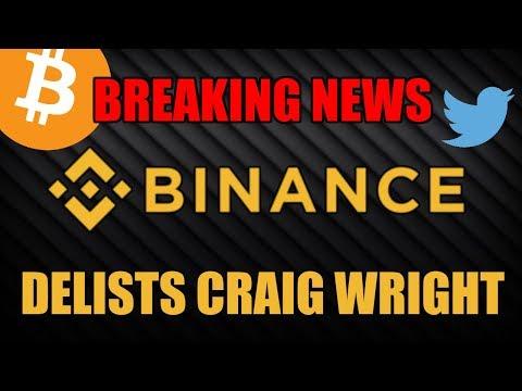 BREAKING: Binance Delists Bitcoin SV!! Is Bitcoin Cash Next?!! $BSV - 동영상