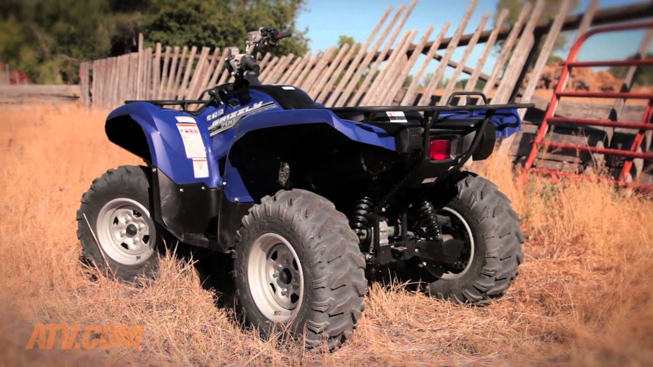 2014 yamaha grizzly 700 review youtube for 2014 yamaha atv