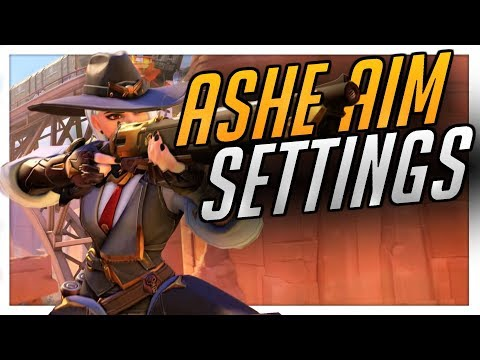 BEST Ashe Settings to Improve Aim for Season 13 | Overwatch