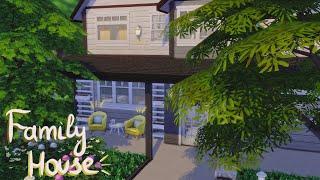 Sims 4 | Современный семейный дом | NO CC