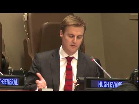 Hugh Evans: 2015 UNA-USA Member's Day