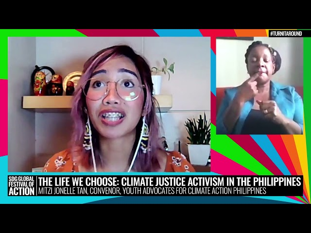 The Life We Choose: Climate Justice Activism in the Philippines (Spanish)