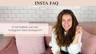 Is het hebben van een Instagram-feed strategisch?