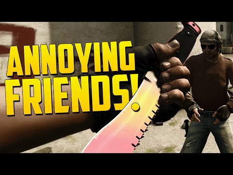 MOST ANNOYING TEAMMATE! - CS GO Funny Moments in Competitive