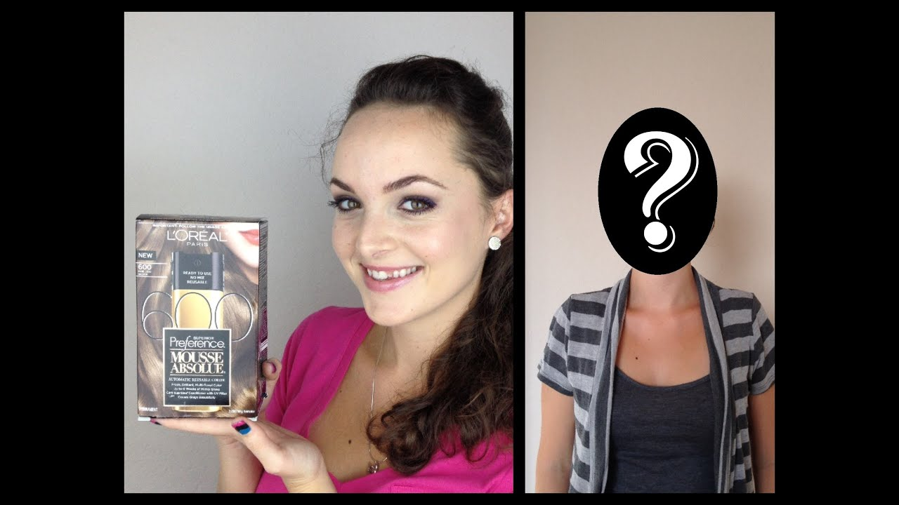 Loreal Mousse Absolue Hair Dye Review First Impression Youtube