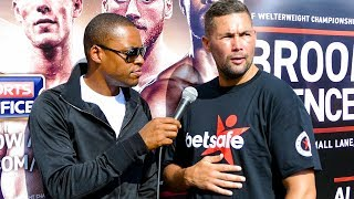 Tony Bellew Gives Passionate Speech on Manchester Terrorist Attack