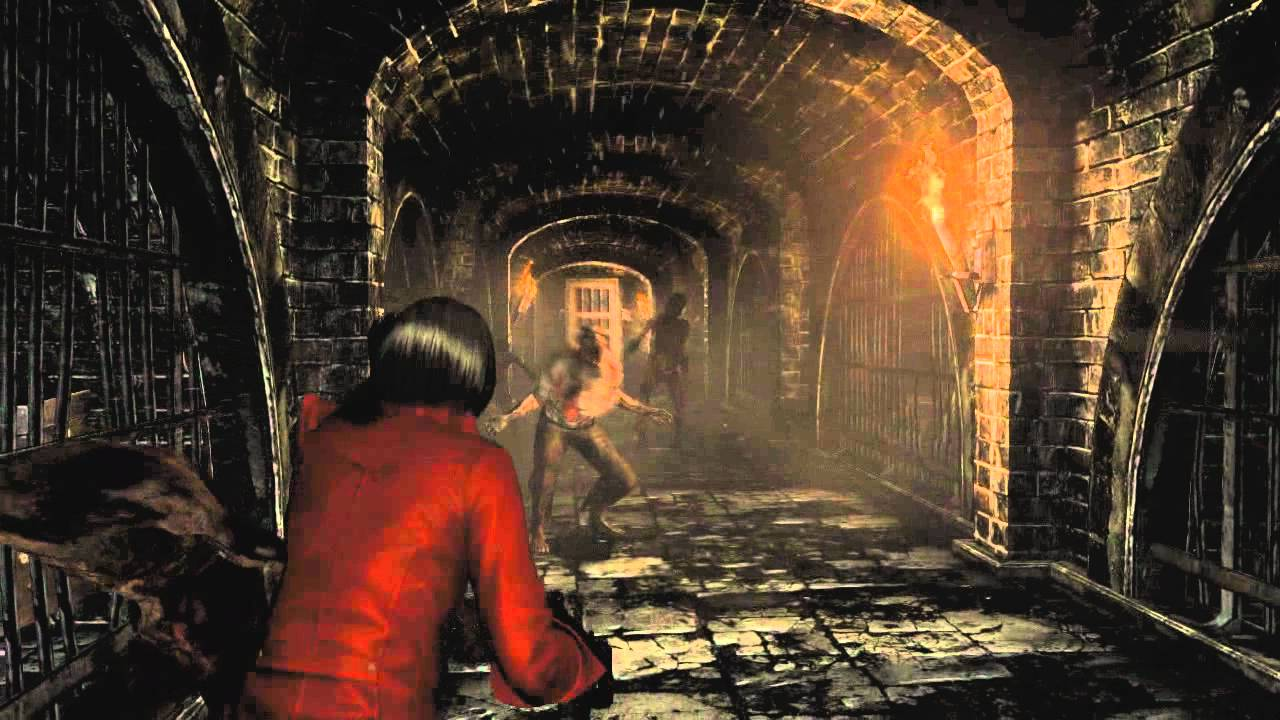 Resident Evil 6 - Ada Wong campaign gameplay - Forest Cemetery (US)