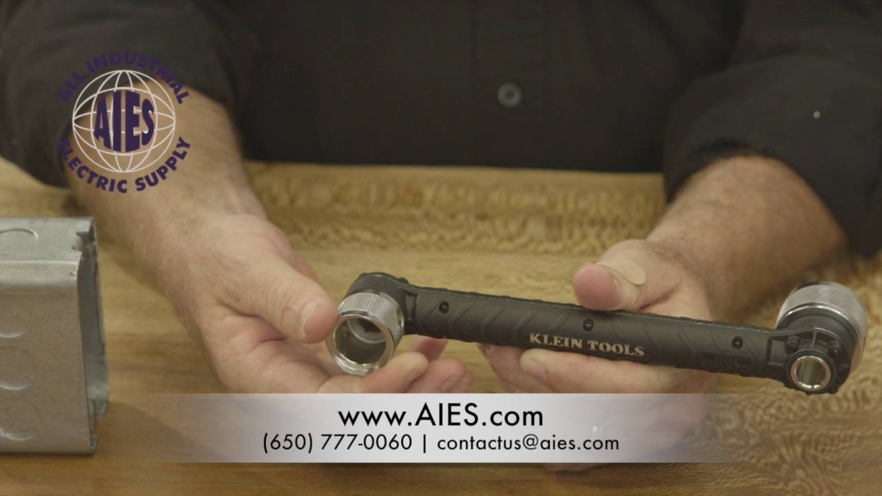 All Industrial Electric Supply introduces Klein Tools' Locknut Wrench