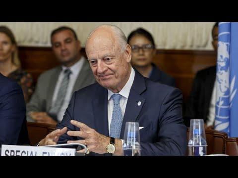 De guerre lasse, l'émissaire de l'ONU pour la Syrie Staffan de Mistura annonce son départ