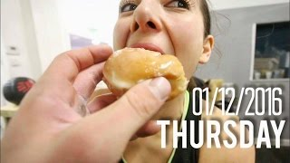 CROSSFIT OPEN WORKOUT 13.1 AND DONUTS