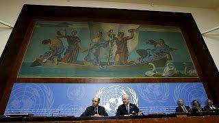 الموفد الأممي إلى سوريا يسلم وثيقة مبادئ أساسية إلى طرفي النزاع     25-3-2016