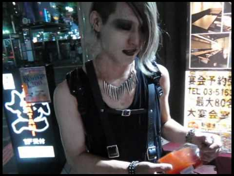 Tokyo Japan Goth clubs, industrial EBM music parties, Japanese weird street fashion