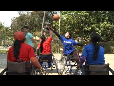 Tokyo dreams fuel Cambodia's first disabled basketballers