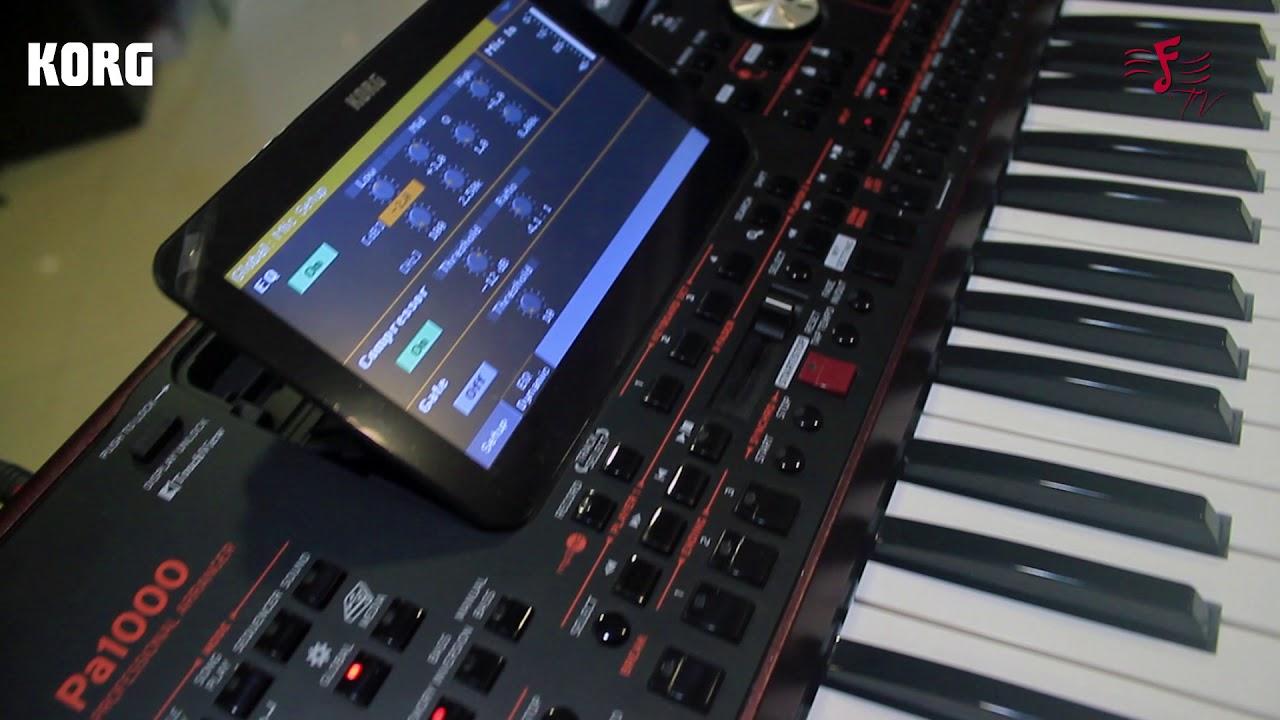 Buy Korg, Arranger Keyboard PA-1000 Online in India at Best