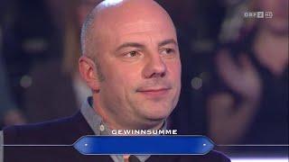 Daniel Wisser Millionenfrage | Die Millionenshow