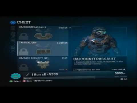 Halo Reach How To Mod All Armors And Infinite Credits [NO JTAG!]
