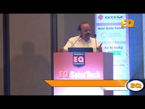 Shri C. Narasimhan, Raasi Group  at EQ SolarTech Conference