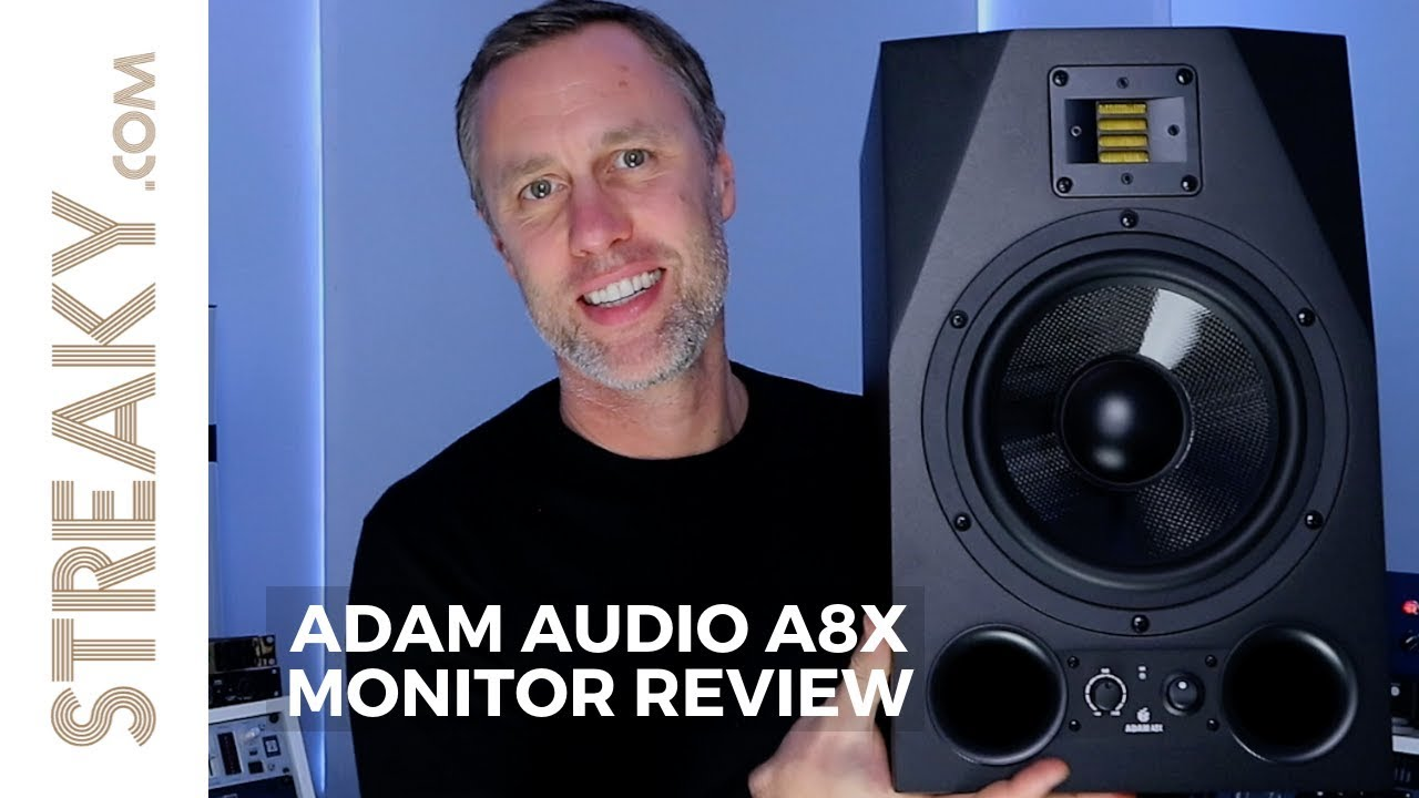 adam audio a8x monitor review youtube. Black Bedroom Furniture Sets. Home Design Ideas